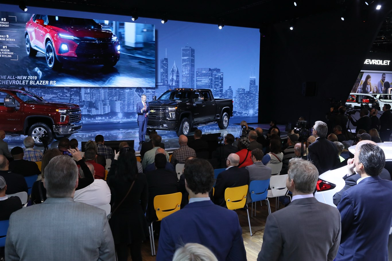 2019 Chevrolet News Conference Chicago Auto Show