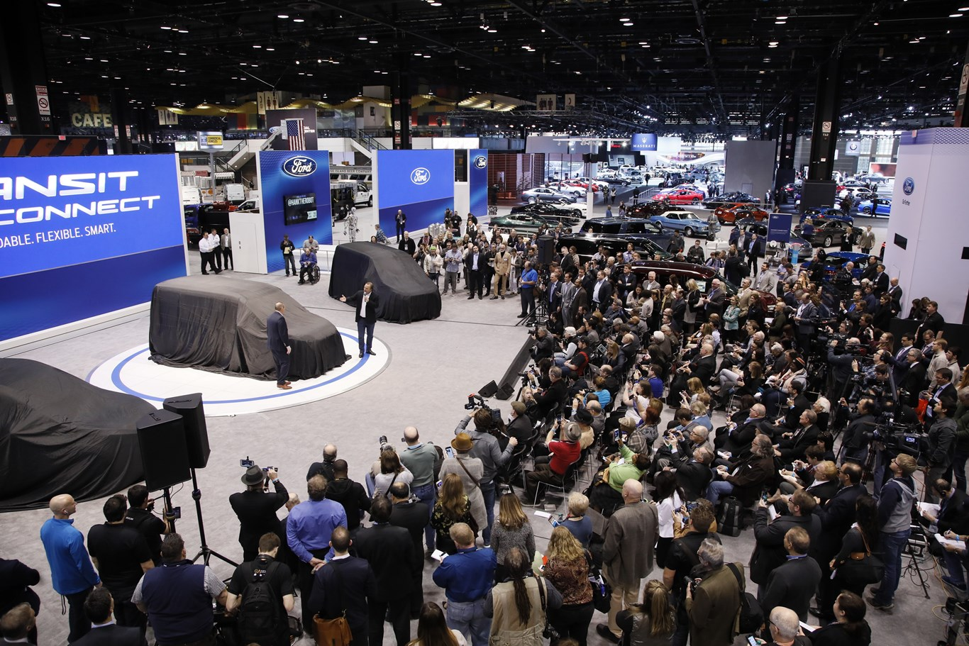 CAS Ford Press Conference Chicago Auto Show - Mccormick place car show