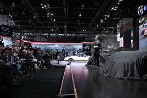 Mazda News Conference
