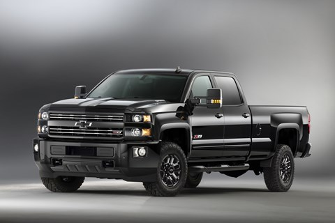 Chevrolet Silverado HD Midnight Edition