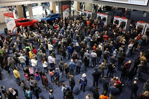 2019 Chicago Auto Show Opening Day