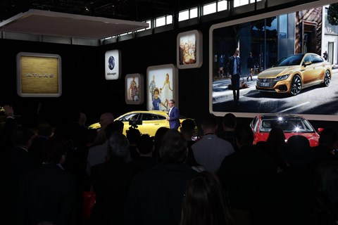 2018 CAS - Volkswagen Press Conference