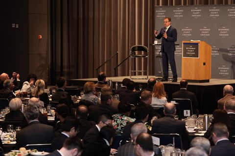 2018 CAS - Economic Club of Chicago Lunch