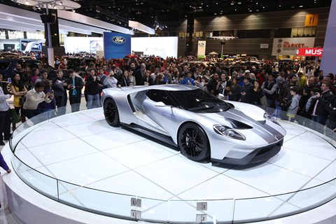 Ford GT Turntable