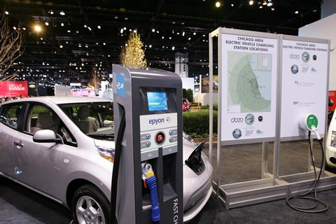 EV Infrastructure in Chicago