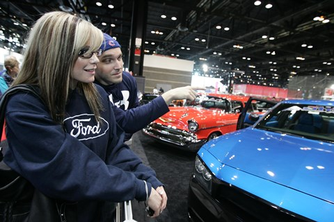 Chicago Auto Show, Friday Feb. 18, 2011