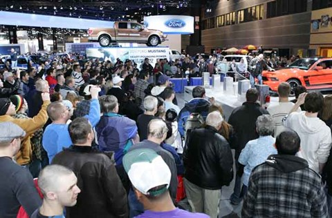 Chicago Auto Show, Opening Day February 11, 2011