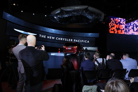 2020 CAS - Chrysler News Conference