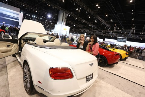 Women's Day at the Chicago Auto Show