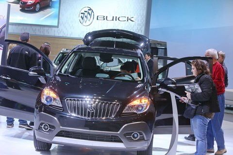 Buick Display