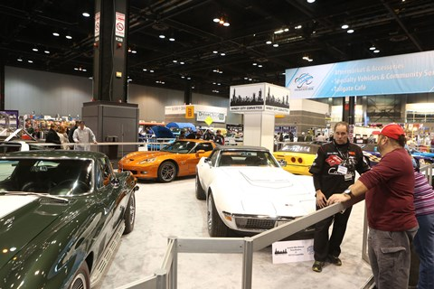 Windy City Corvettes Display
