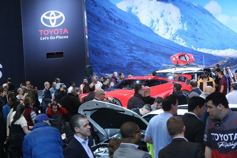 Toyota Display