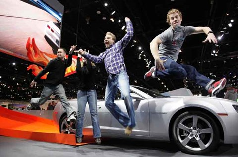 Chicago Auto Show, Tuesday, Feb. 15, 2011