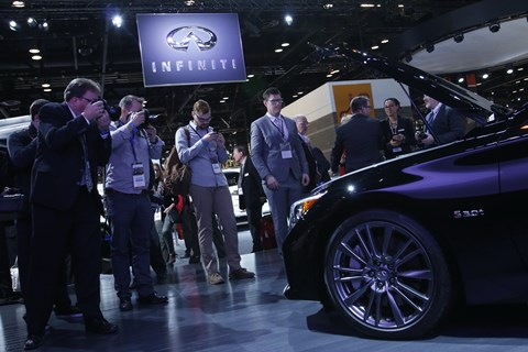 2016 Infiniti News Conference