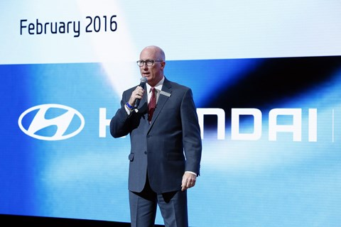 2016 Hyundai News Conference