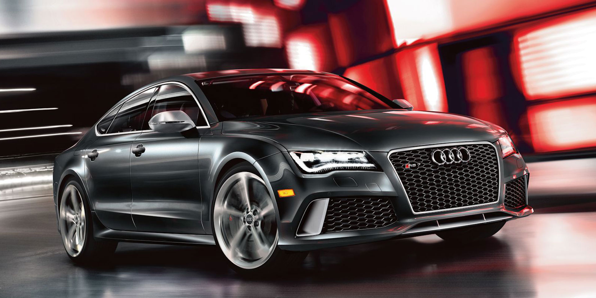2018 Audi A7 S7 Rs7 Vehicles On Display Chicago Auto Show