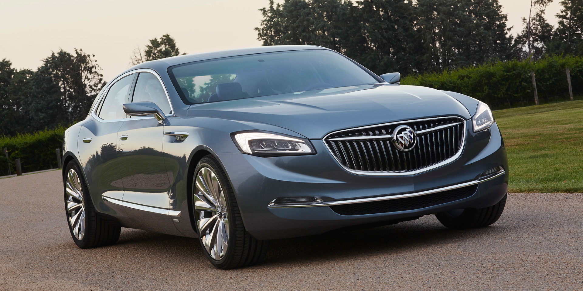 2015 buick avenir vehicles on display chicago auto show. Black Bedroom Furniture Sets. Home Design Ideas