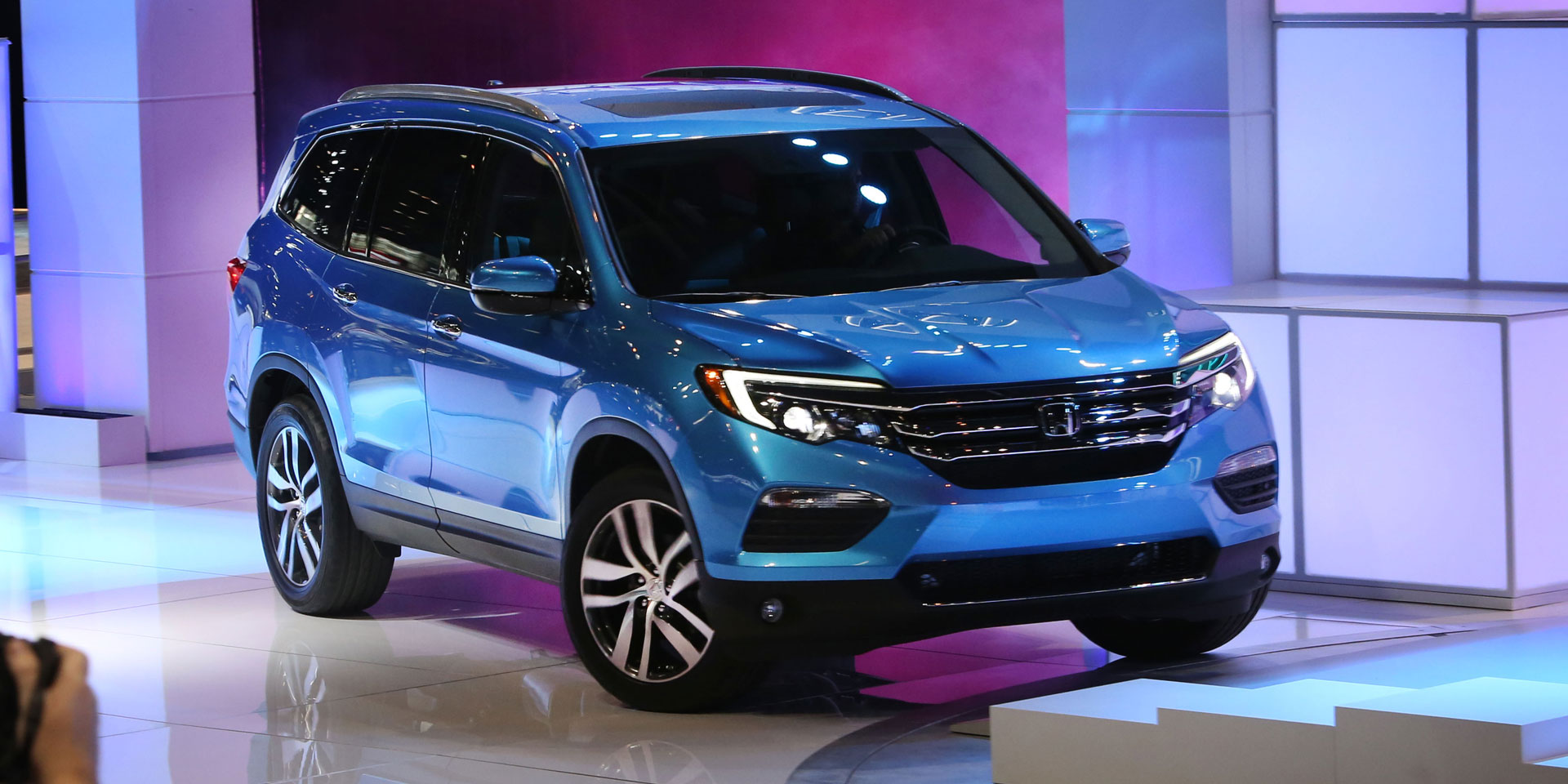 2016 Honda Pilot Vehicles On Display Chicago Auto Show