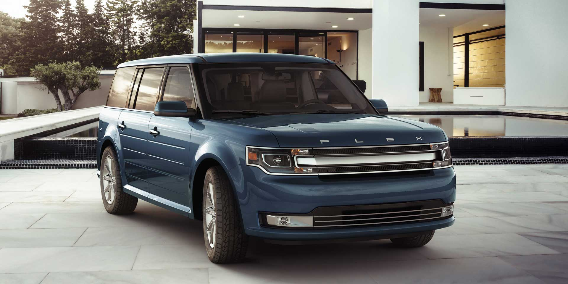 2018 ford flex vehicles on display chicago auto show. Black Bedroom Furniture Sets. Home Design Ideas