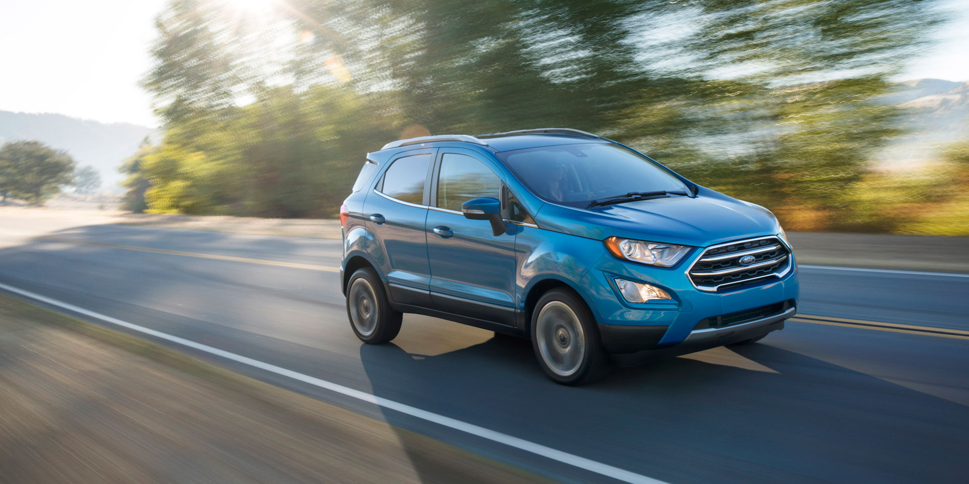 2019 Ford Ecosport Vehicles On Display Chicago Auto Show