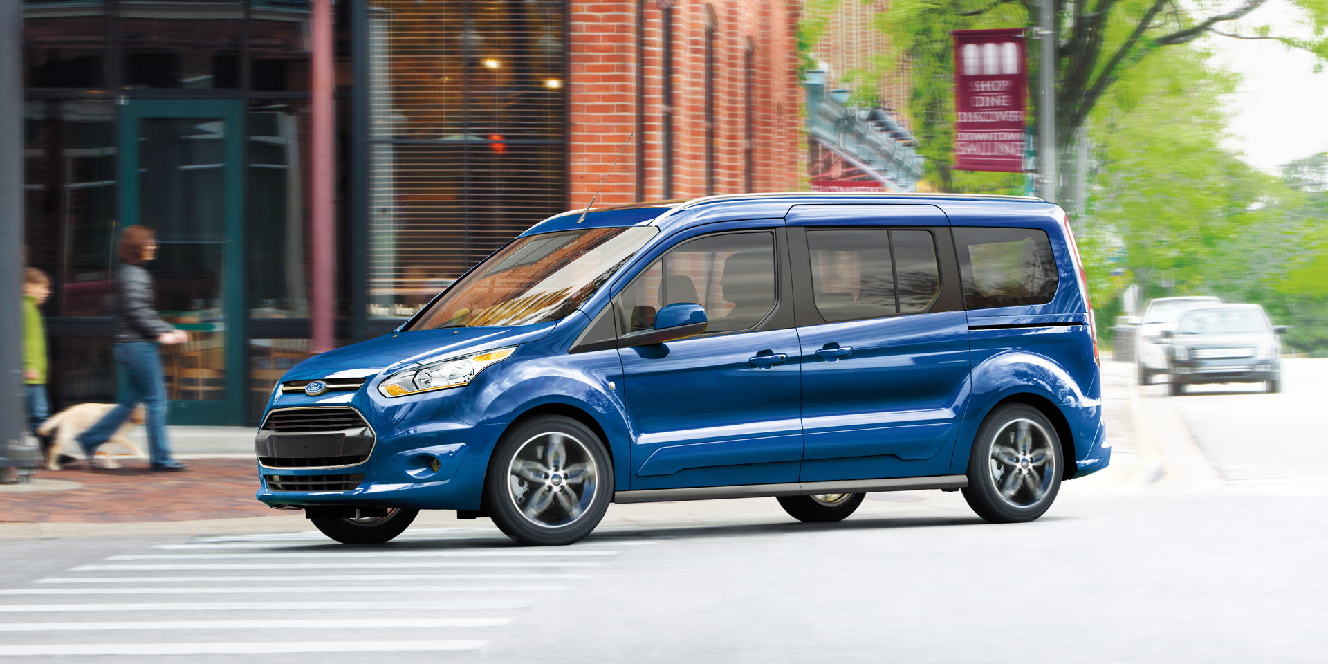 2018 Ford Transit Connect Vehicles On Display