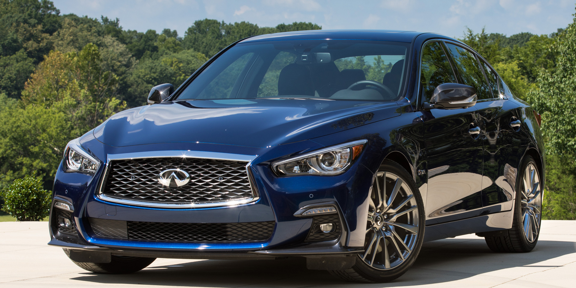 2018 Infiniti Q50 Vehicles On Display Chicago Auto