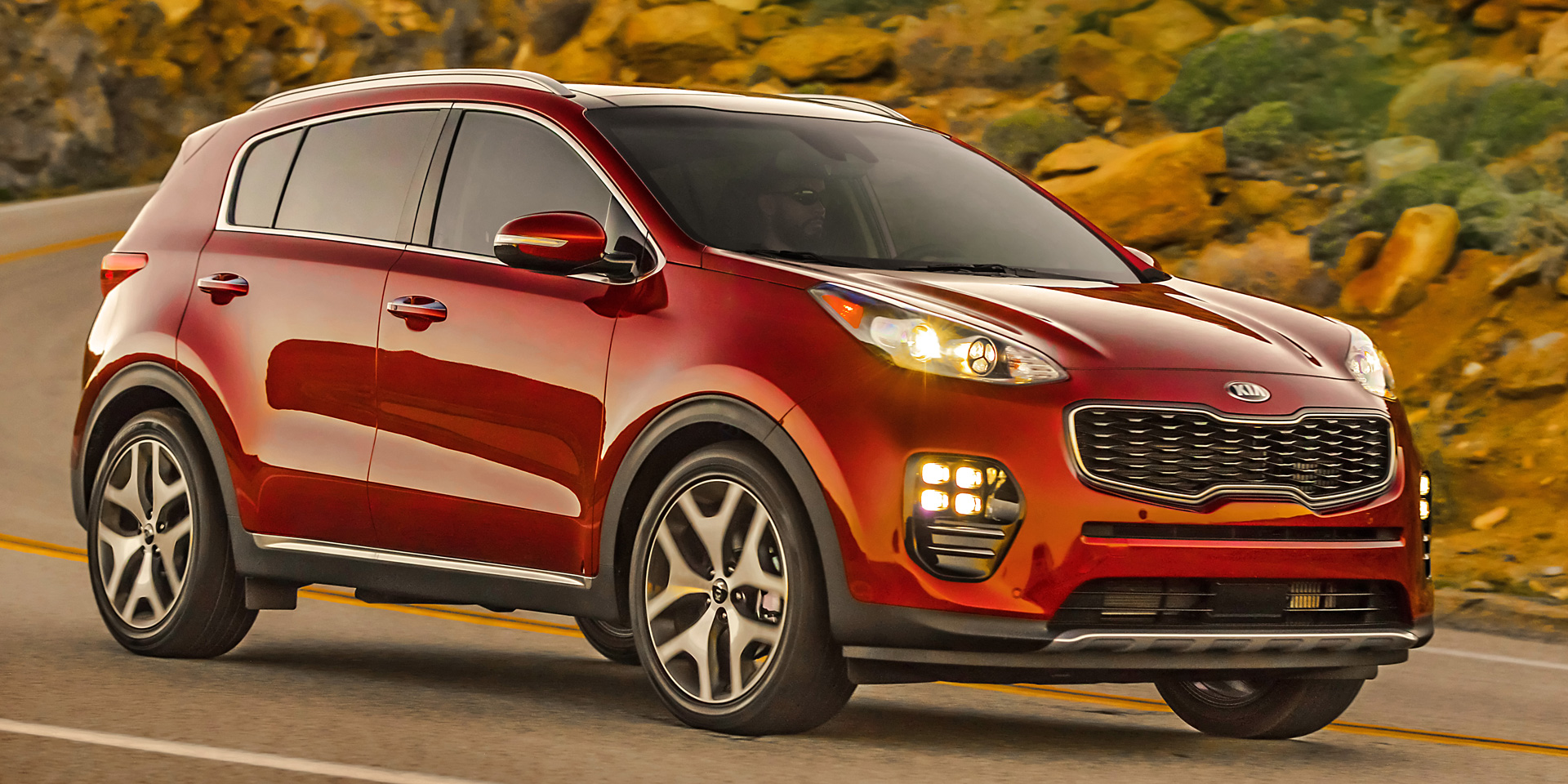 2018 kia sportage vehicles on display chicago auto show. Black Bedroom Furniture Sets. Home Design Ideas