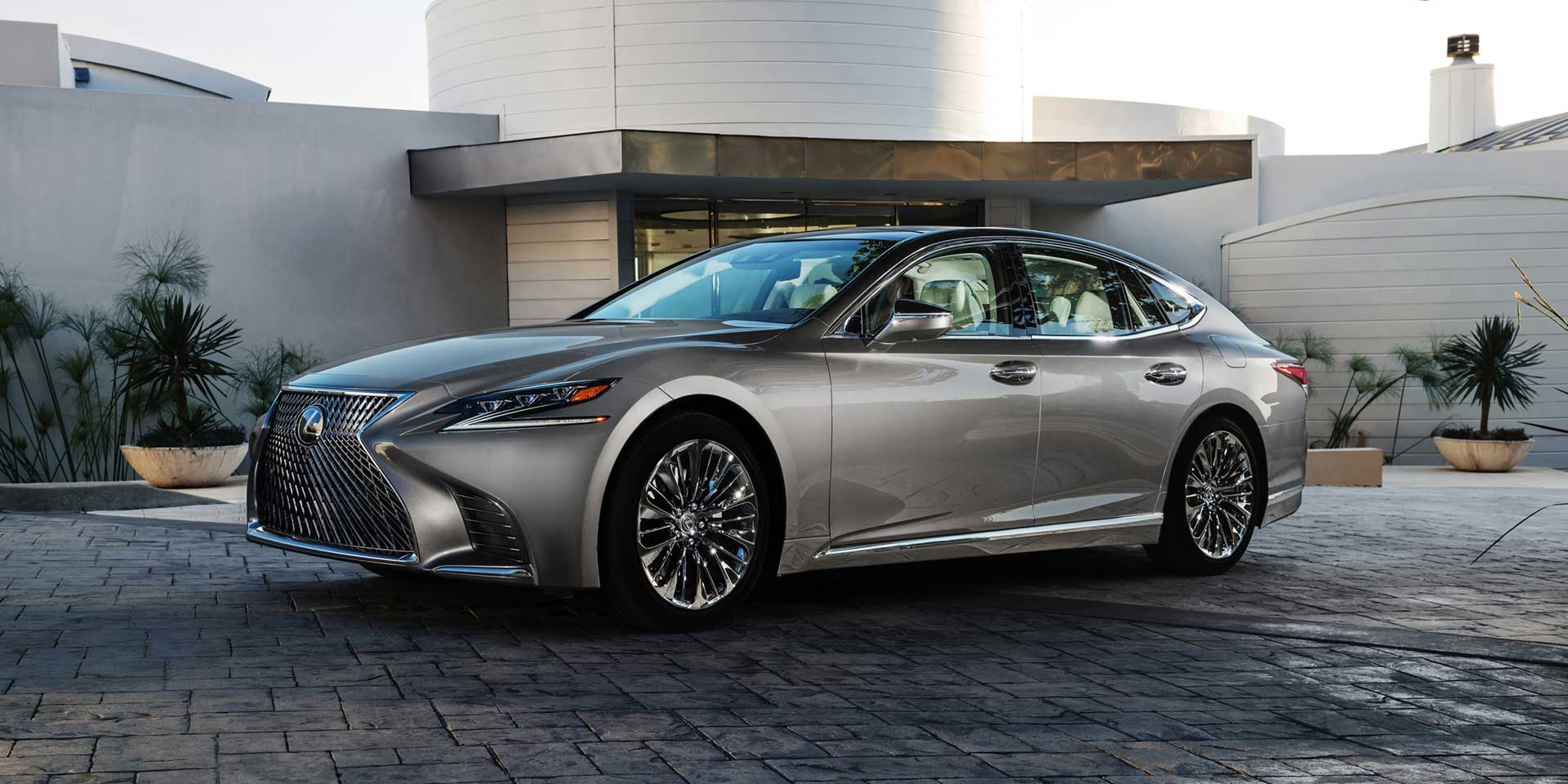2018 Lexus Ls Vehicles On Display Chicago Auto Show