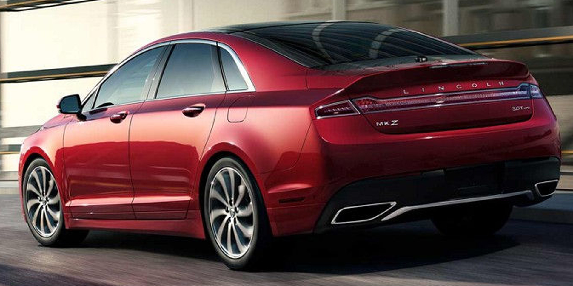 2018 - Lincoln - MKZ - Vehicles on Display | Chicago Auto Show