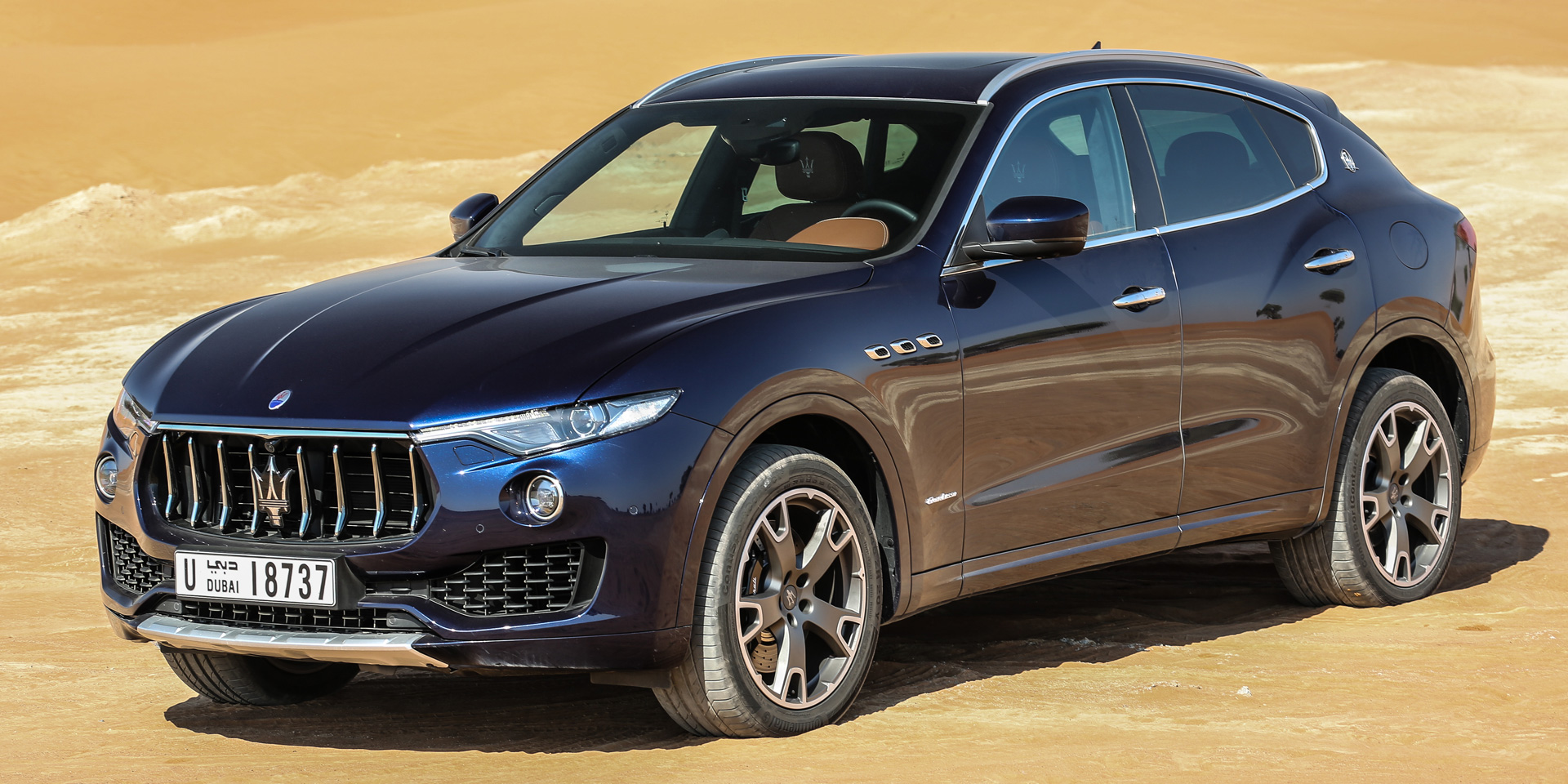 2018 Maserati Levante Vehicles On Display Chicago Auto Show