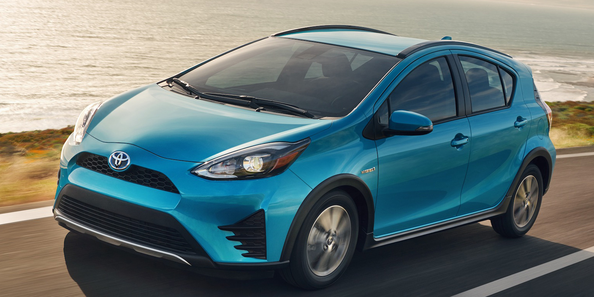 2018 toyota prius c vehicles on display chicago auto show. Black Bedroom Furniture Sets. Home Design Ideas