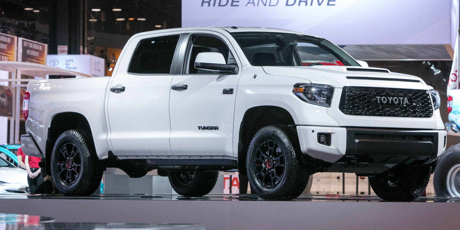2019 Toyota Tundra Vehicles On Display Chicago Auto Show