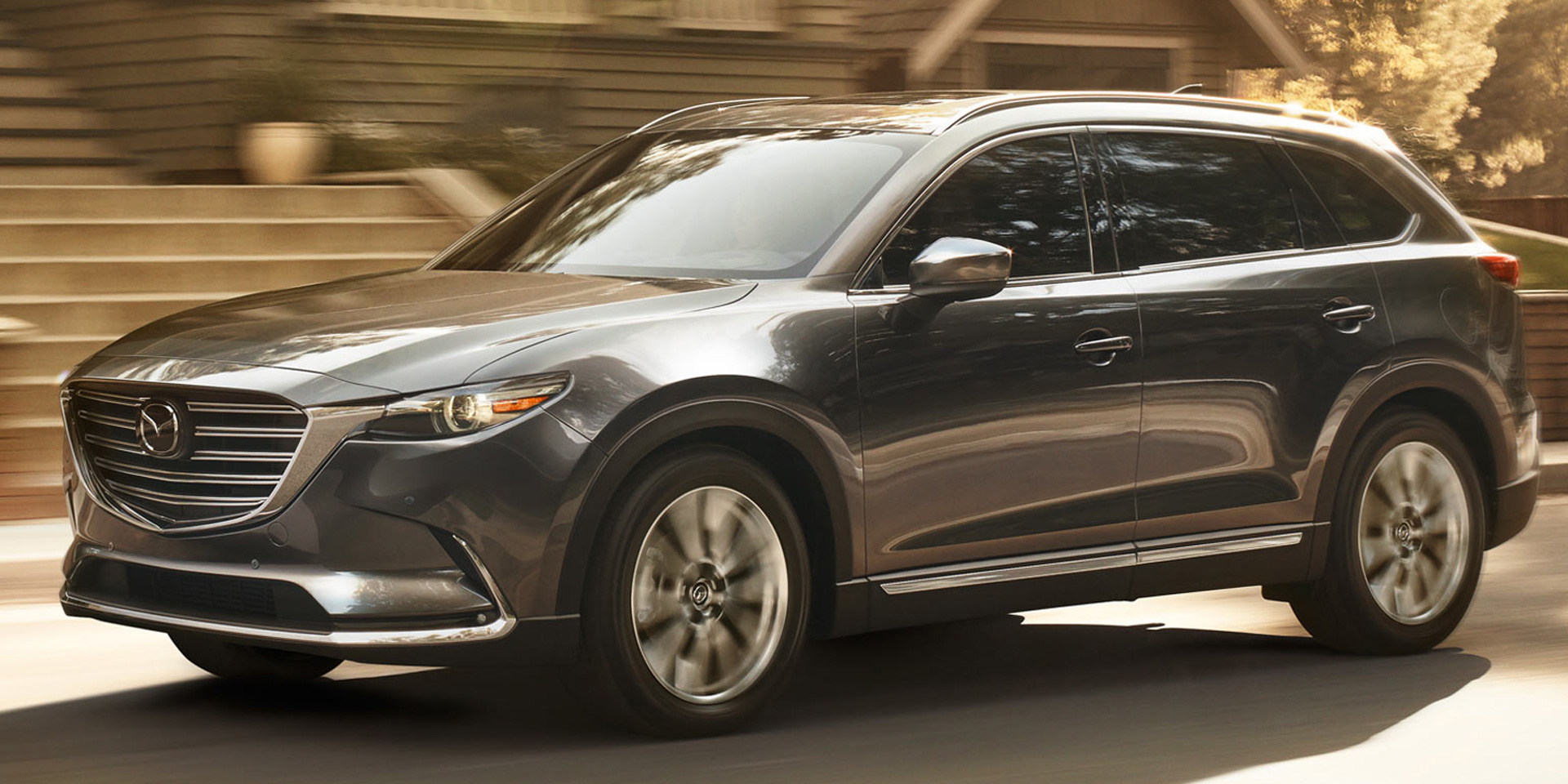 2018 mazda cx 9 vehicles on display chicago auto show. Black Bedroom Furniture Sets. Home Design Ideas