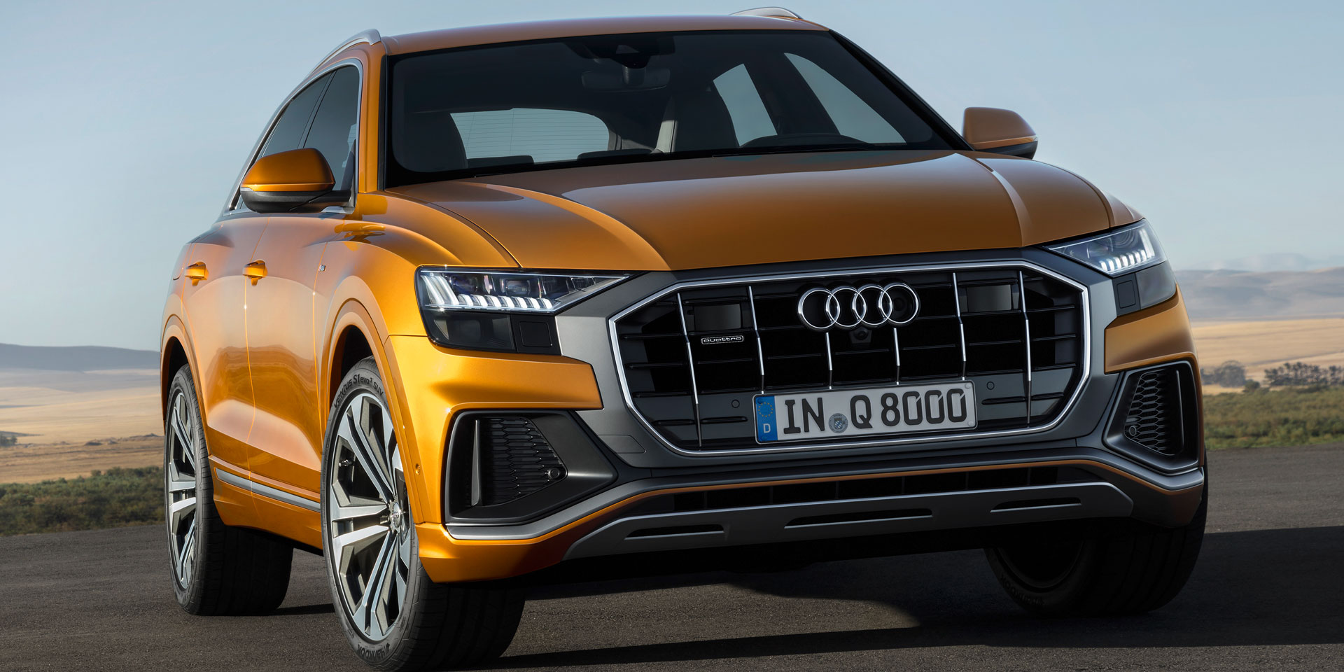 2019 Audi Q8 Vehicles On Display Chicago Auto Show