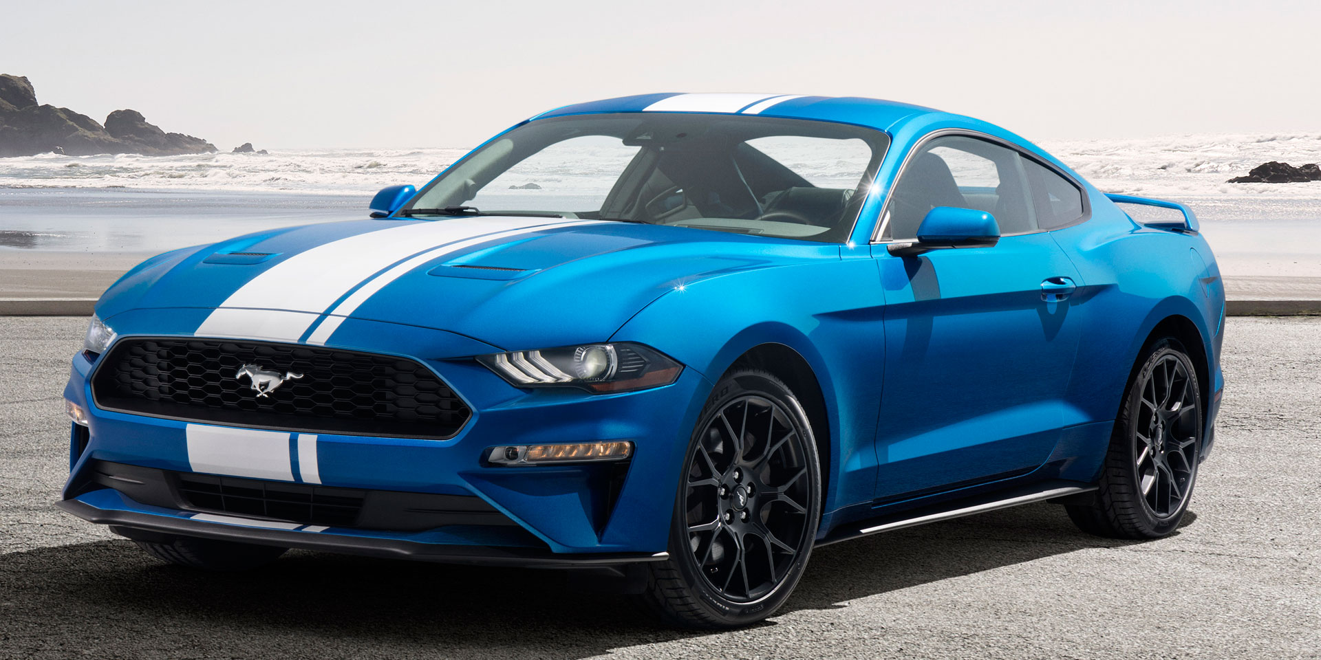 2019 Ford Mustang Vehicles On Display Chicago Auto Show Events Car S Videos The Is A 4 Seat Sports Thats Available As 2 Door Coupe And Convertible Only Rear Wheel Drive Models Are