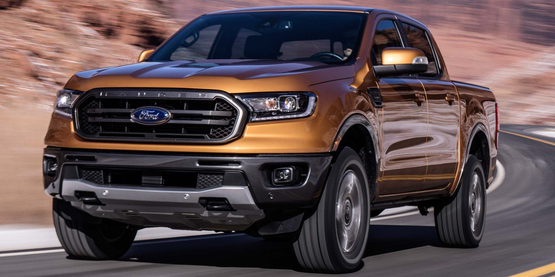 2019 Ford Ranger Vehicles On Display Chicago Auto Show