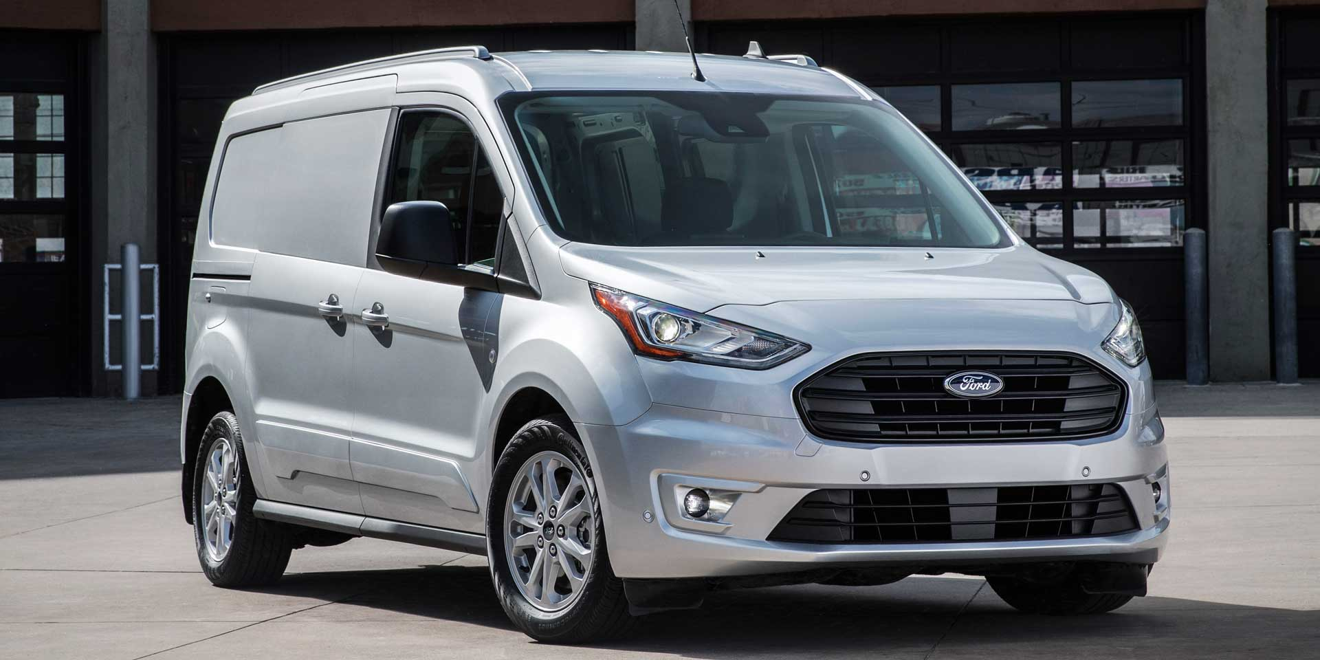 Ford Transit Connect >> 2019 Ford Transit Connect Vehicles On Display Chicago Auto Show