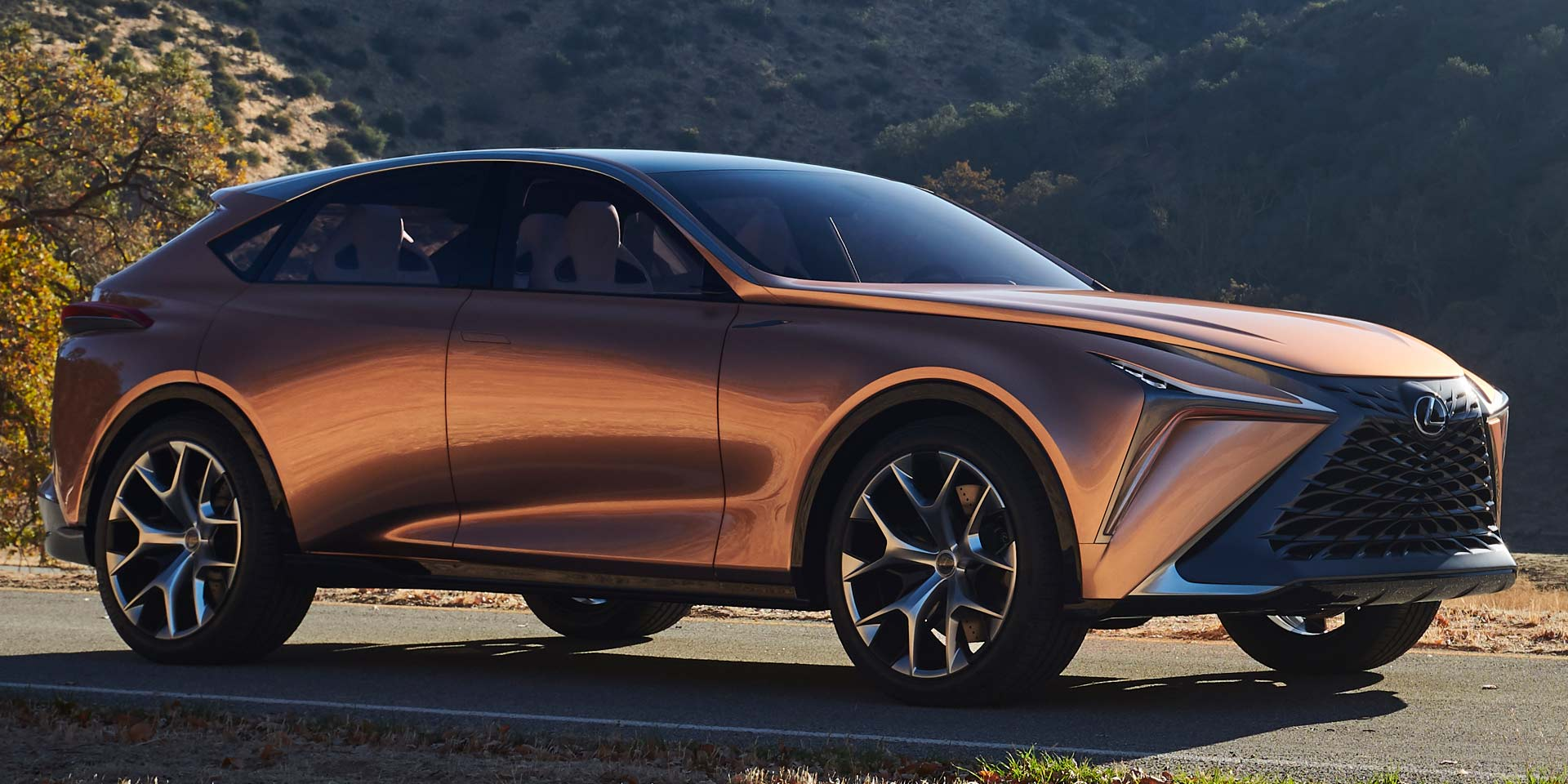 The Lexus LF 1 Concept Is A Prototype That Brings To Life Lexusu0027 New Design  Language For Future Generations. The Luxury Crossover Is Said To Be A  Futuristic ...