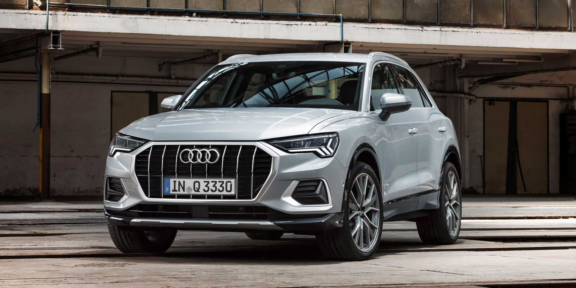 2019 Audi Q3 Vehicles On Display Chicago Auto Show