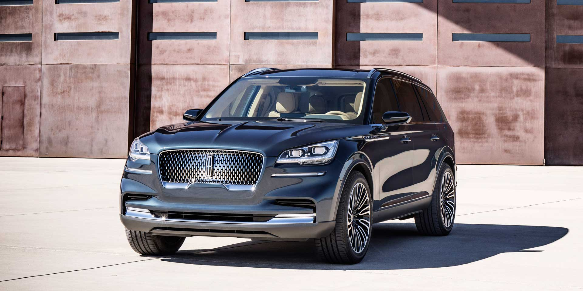 2019 Lincoln Aviator Vehicles On Display Chicago Auto Show