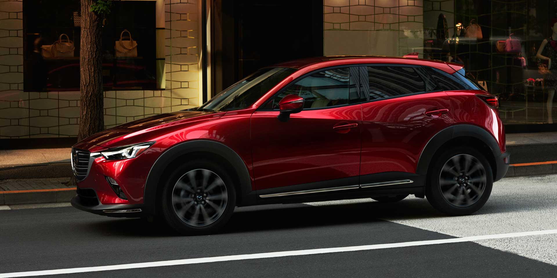 2019 mazda cx 3 vehicles on display chicago auto show. Black Bedroom Furniture Sets. Home Design Ideas