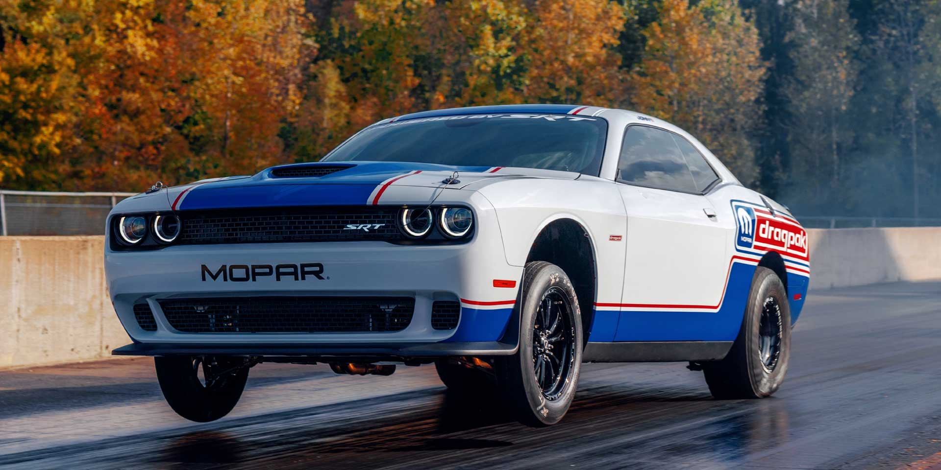 2020 dodge challenger drag pak vehicles on display chicago auto show 2020 dodge challenger drag pak