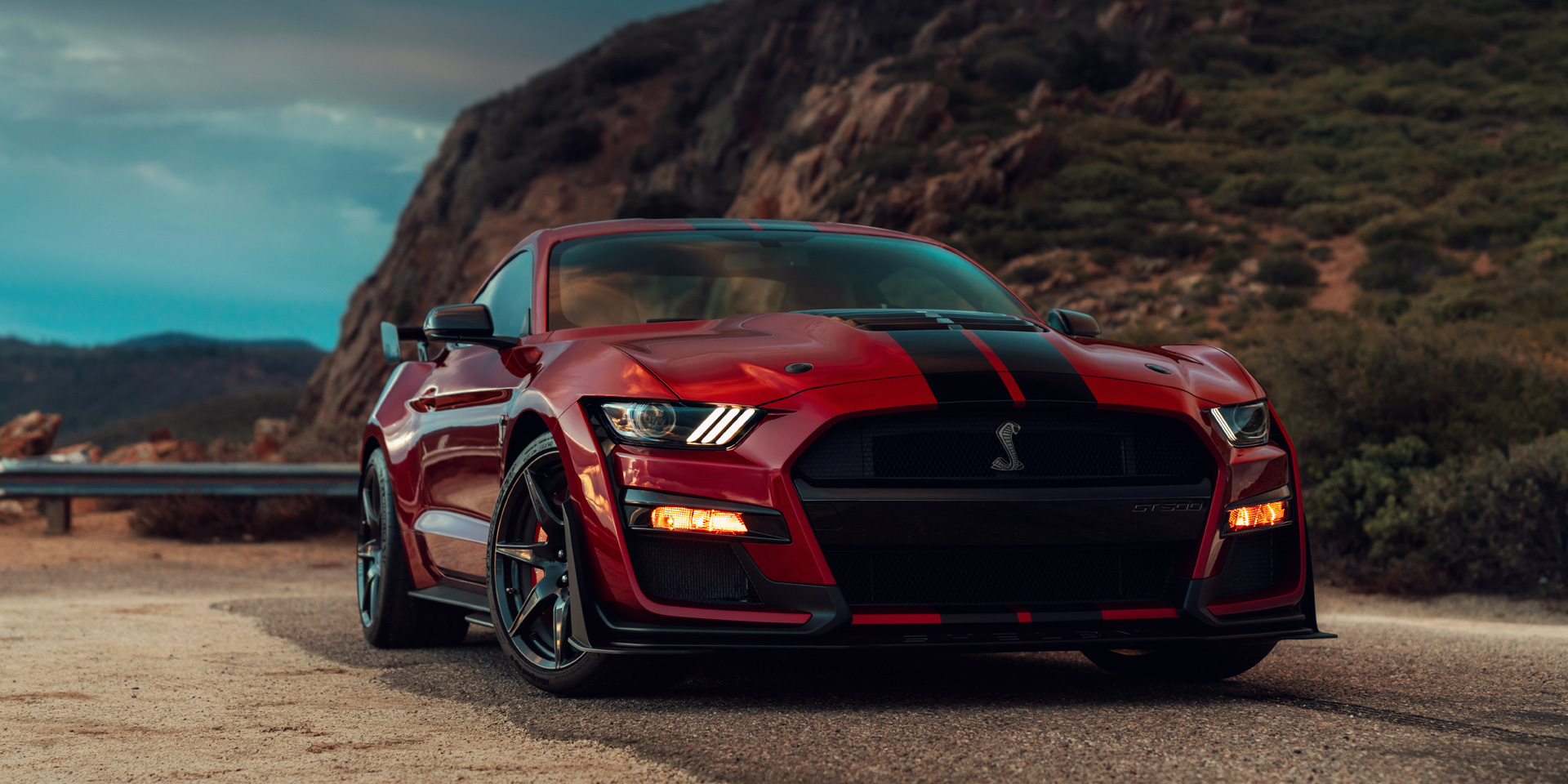 2020 Ford Mustang Shelby Gt500 Vehicles On Display Chicago