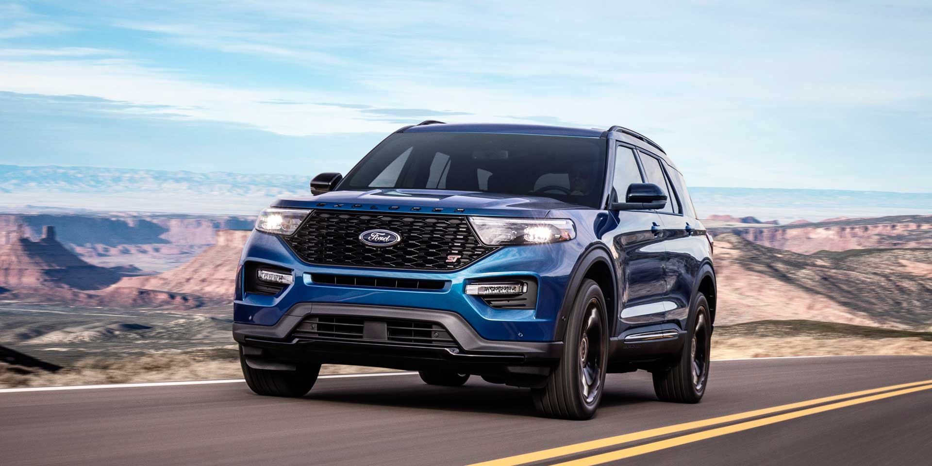 2020 - Ford - Explorer - Vehicles On Display