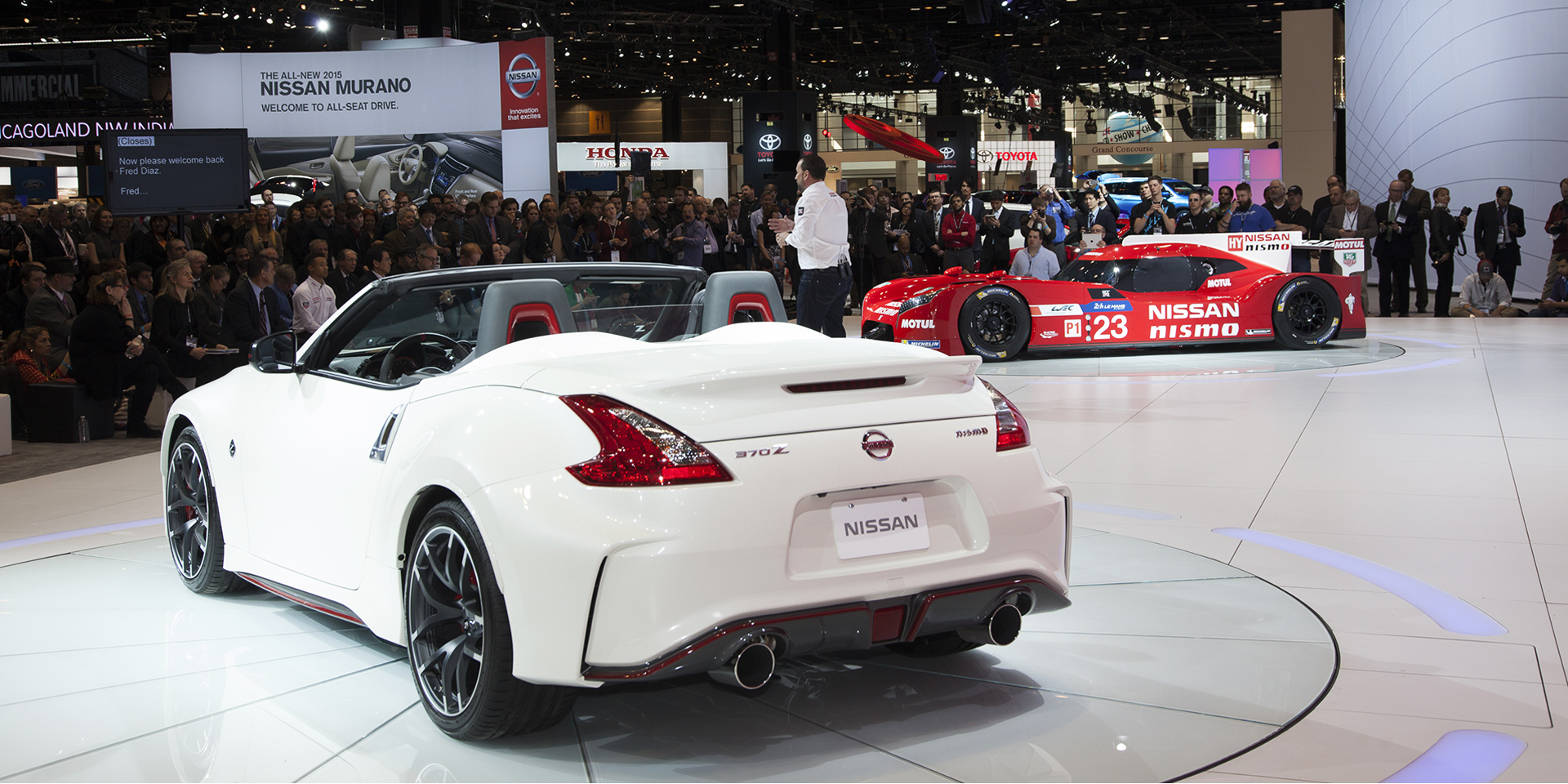 2015 - nissan - 370z nismo roadster - vehicles on display