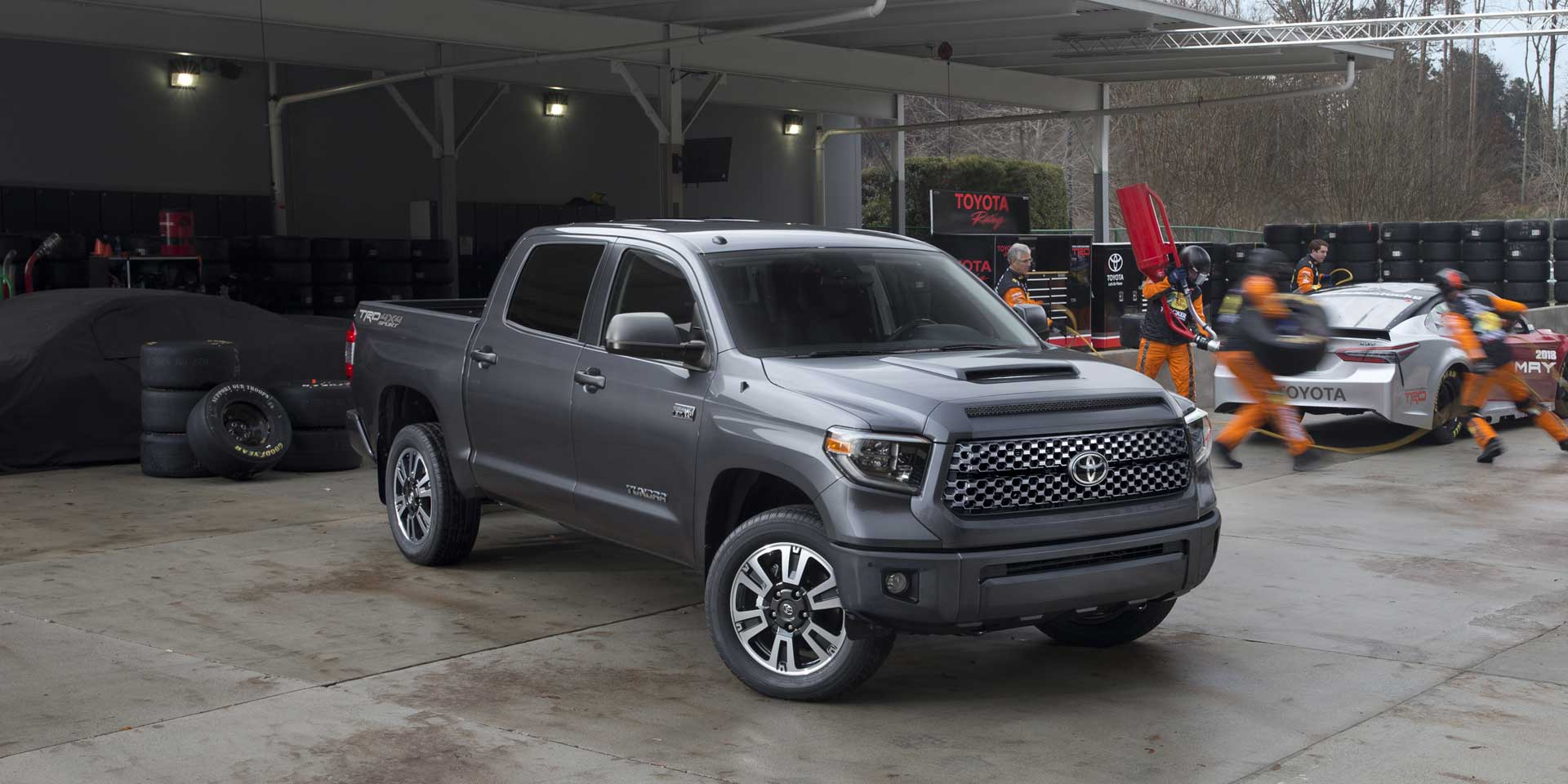 2018 - Toyota - Tundra TRD Sport - Vehicles on Display ...