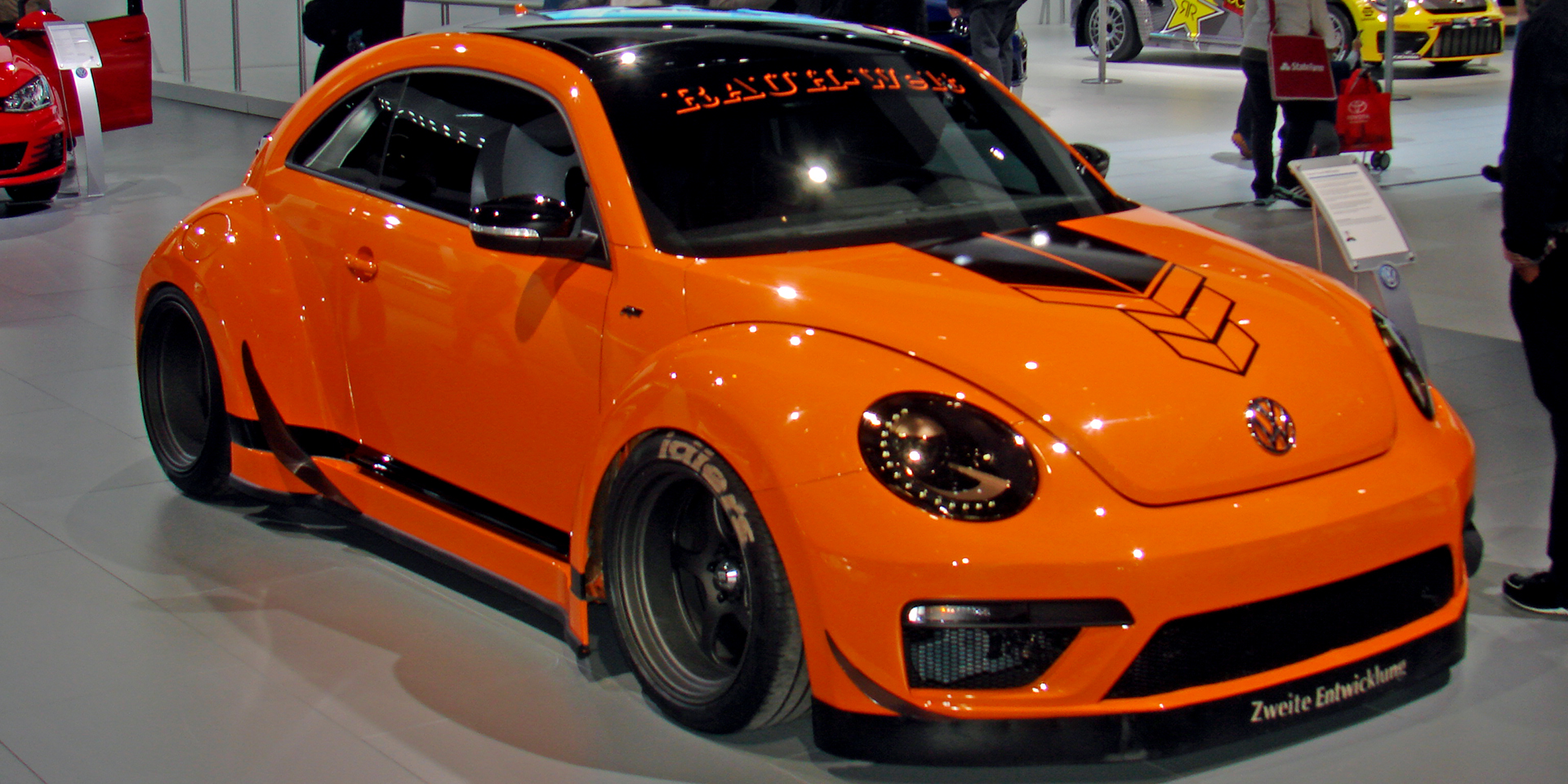 2015 Volkswagen Tanner Foust Rwb Beetle Vehicles On