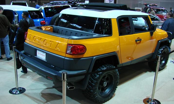 Which Concept FJ Is Your Favorite? - Page 2 - Toyota FJ Cruiser Forum