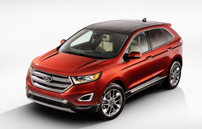 Allnew Ford Edge Available Early Next Year Chicago Auto Show - Best ford cars 2015
