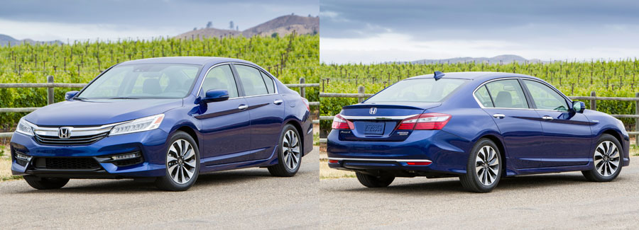 Accord Hybrid Accelerates Briskly And Doesn T Stumble Or Shudder Away From A Stop Trait Common In Vehicles When Pressed The Gas Electric Combo